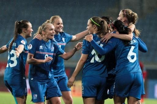 Women's National Football Team Wins First Euro '21 Qualifier