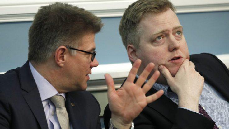 Gunnar Bragi and Sigmundur Davíð