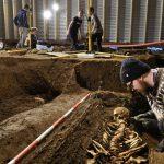 Excavation by Austurvöll