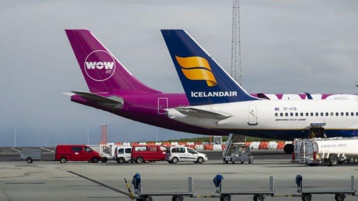 WOW - Icelandair - Keflavík Airport