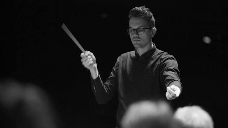 Conductor and composer Daníel Bjarnason.