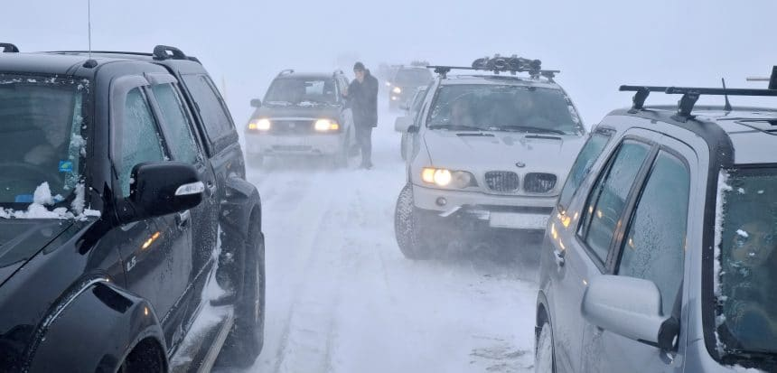 Snowstorm Iceland