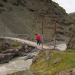 Seventy-Year-Old Footbridge Collapses in Storm