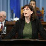 Minister of Health Svandís Svavarsdóttir