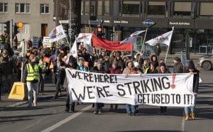 hotel workers strike Reykjavík