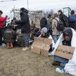 Refugees protest in Reykjavík
