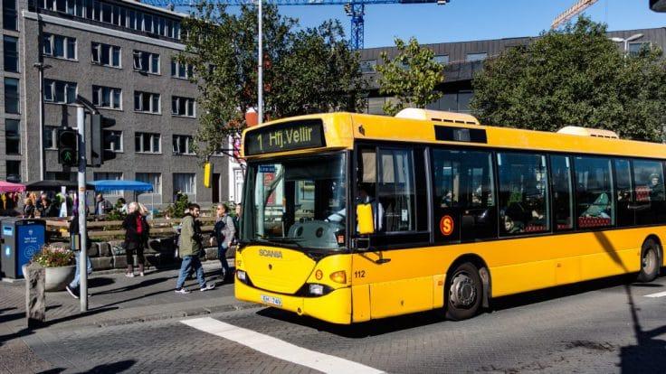 Public bus Reykjavík