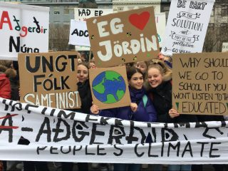 Icelandic Youth Mark One Year of Weekly Climate Strikes