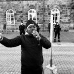 Asylum seeker protest Reykjavík