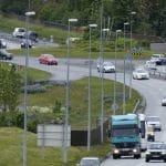 traffic in Reykjavík