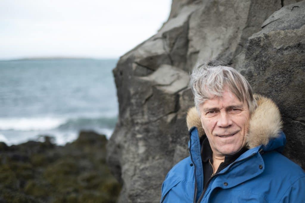 Author Einar Kárason.