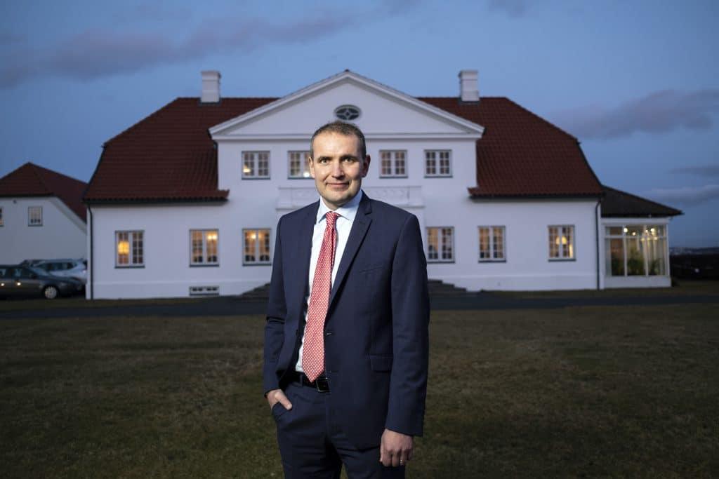 President of Iceland Guðni Th. Jóhannesson.