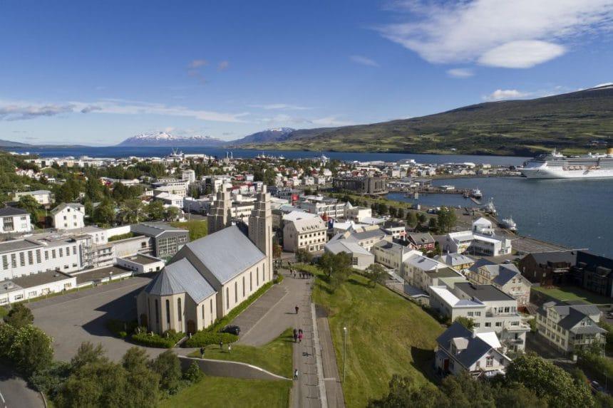 Repairs Begin on Church of Akureyri