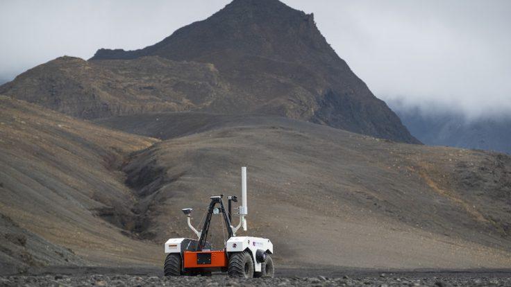 NASA Sand-E Rover Mars