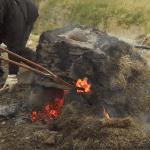 iron smelting Eiríksstaðir