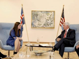 Pence Focused on Business and Defence During Iceland Visit