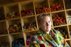 Wool dyeing Iceland