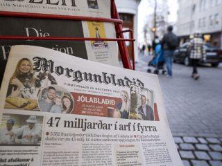 Fifteen Laid Off at Morgunblaðið Newspaper