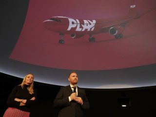 New Airline PLAY Paints WOW Red