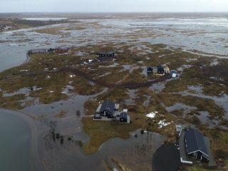 Flooding Across Iceland