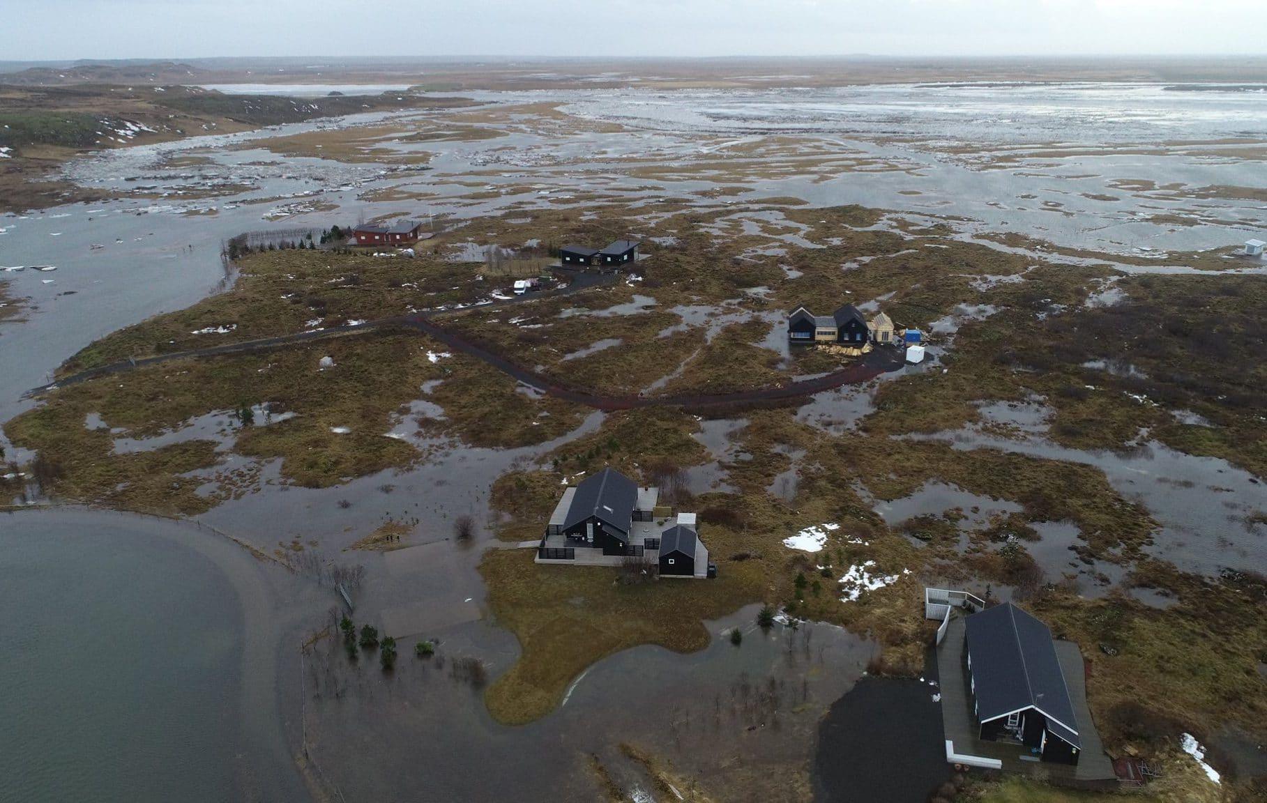 flood south iceland