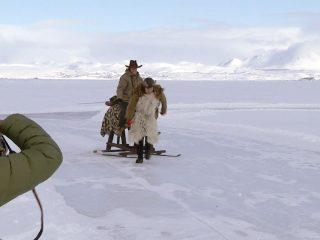 Seifenkistenrennen auf dem Mývatn