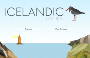learning Icelandic language online