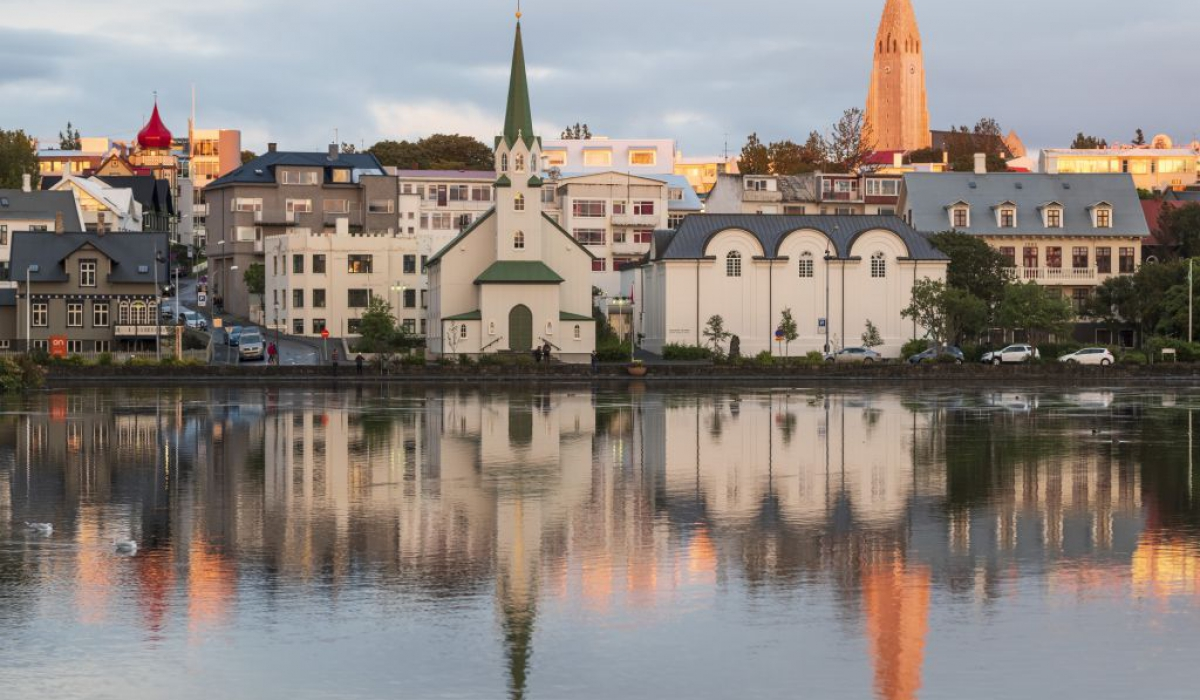 Reykjavík pond
